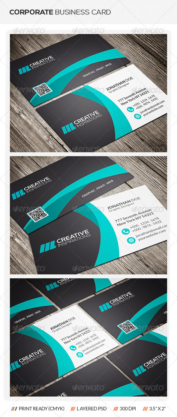 GraphicRiver Creative Corporate Business Card 6874333