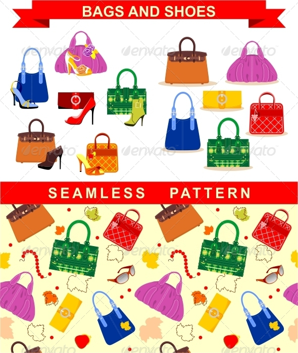 GraphicRiver Bags and Shoes 6874381