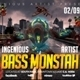 Bass Monstah Party Flyer - GraphicRiver Item for Sale