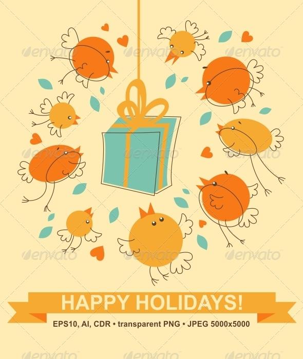 GraphicRiver Bird's Gift 6874635