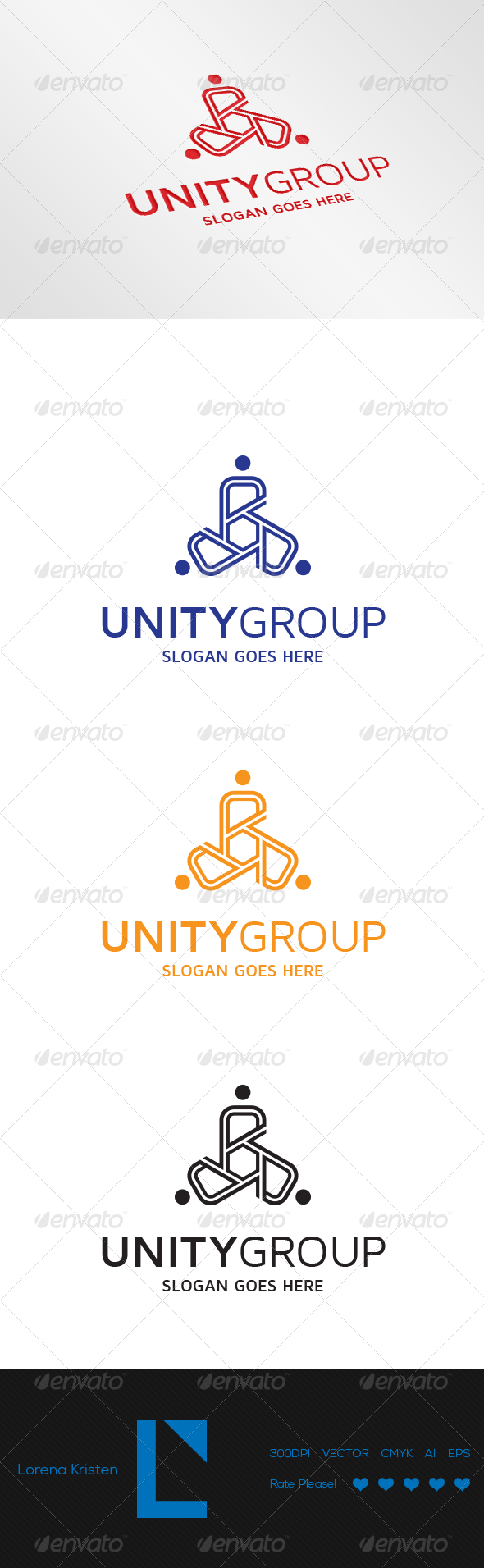 GraphicRiver Unity Group 6874762