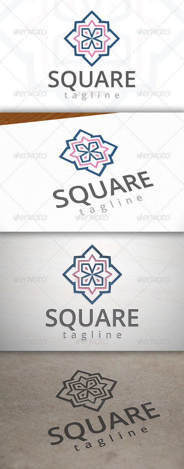 GraphicRiver Square Logo 6874785
