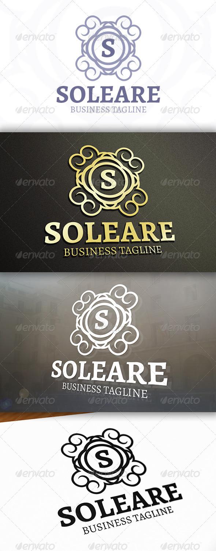 GraphicRiver Soleare Logo 6875357