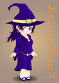 Halloween witch vector - PhotoDune Item for Sale