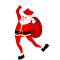 Santa Claus dancing vector - PhotoDune Item for Sale
