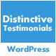 Distinctive Testimonials - Powerful WP Testimonies - CodeCanyon Item for Sale