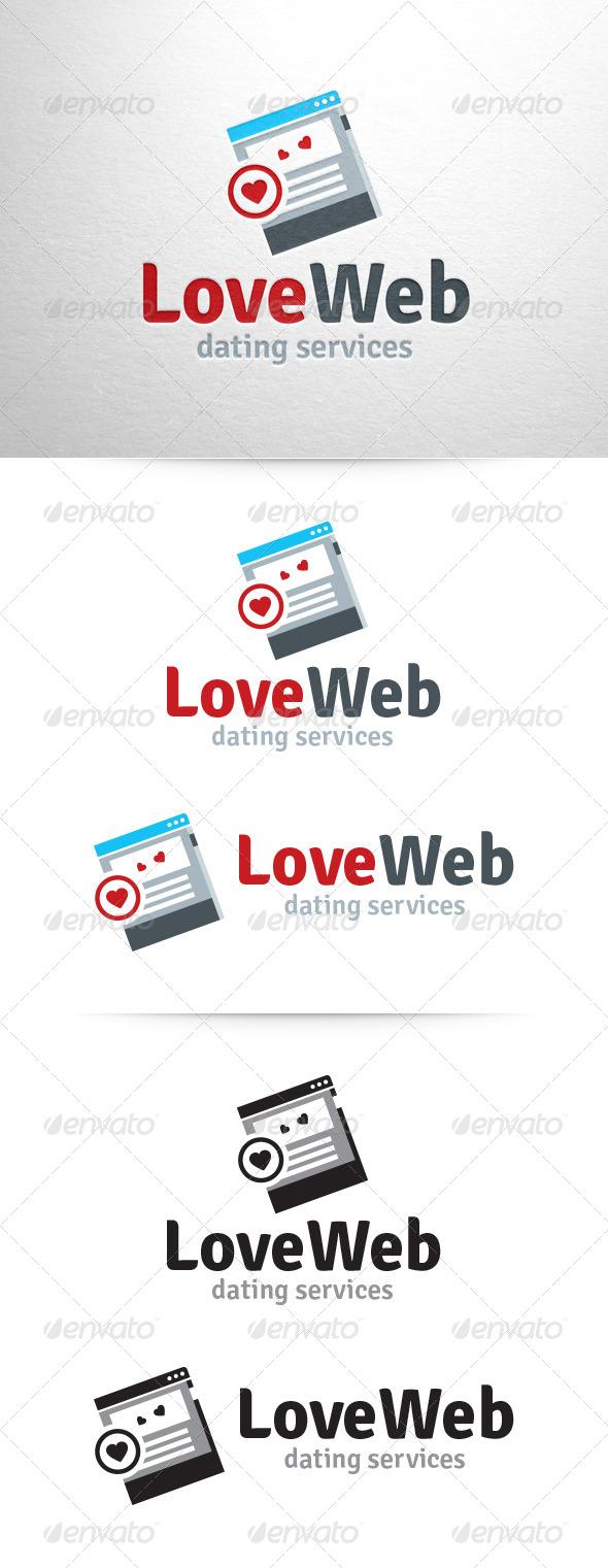 GraphicRiver Love Web Logo Template 6877640