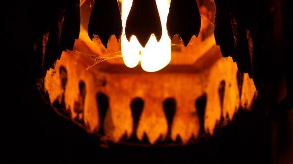 Lantern With Cobweb