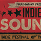 Indie Sounds Flyer - GraphicRiver Item for Sale