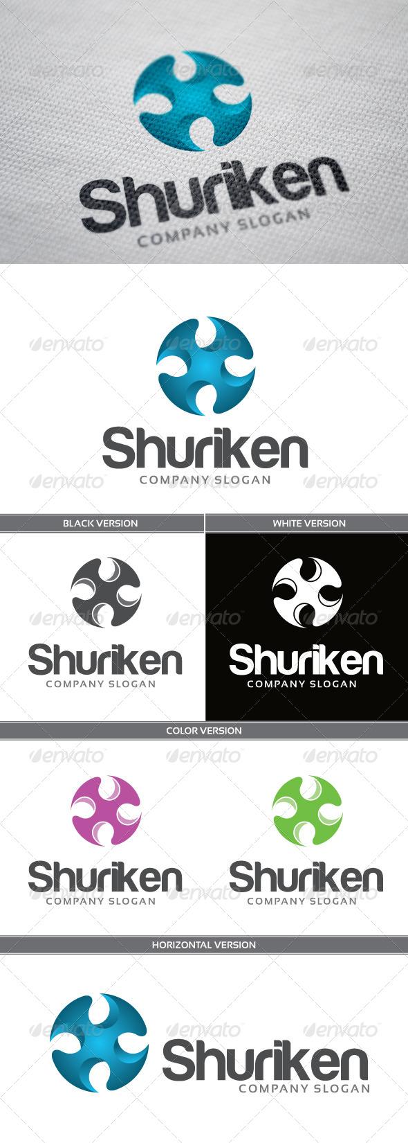 GraphicRiver Shuriken 6878286