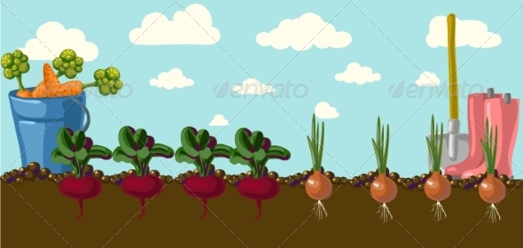 GraphicRiver Garden 6878659