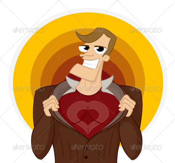GraphicRiver Super Lover 6879060