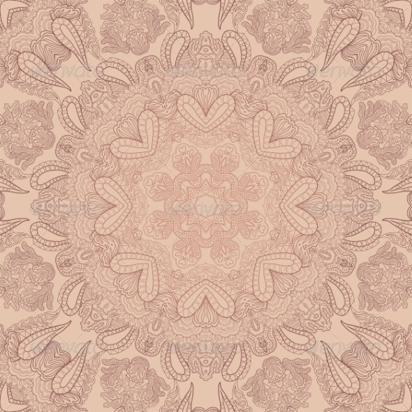 GraphicRiver Pastel Lace Ornament 6879304