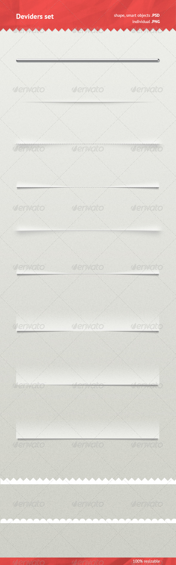 GraphicRiver Dividers Set 6879357