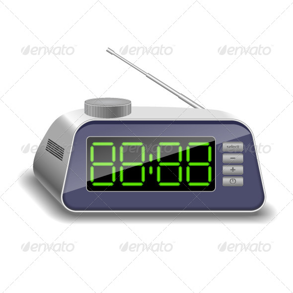 GraphicRiver Electronic Clock 6879374