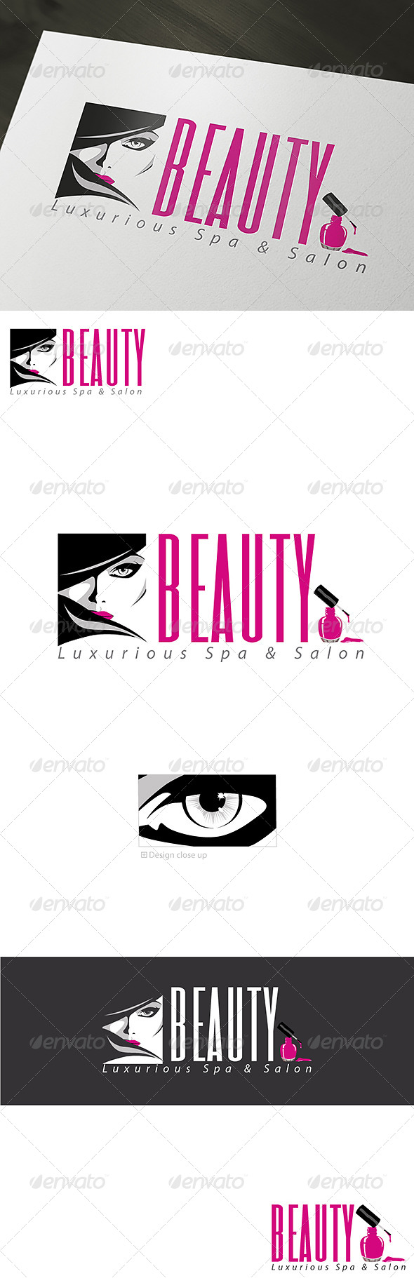 GraphicRiver Luxurious Beauty Spa & Salon Logo Template 6879661