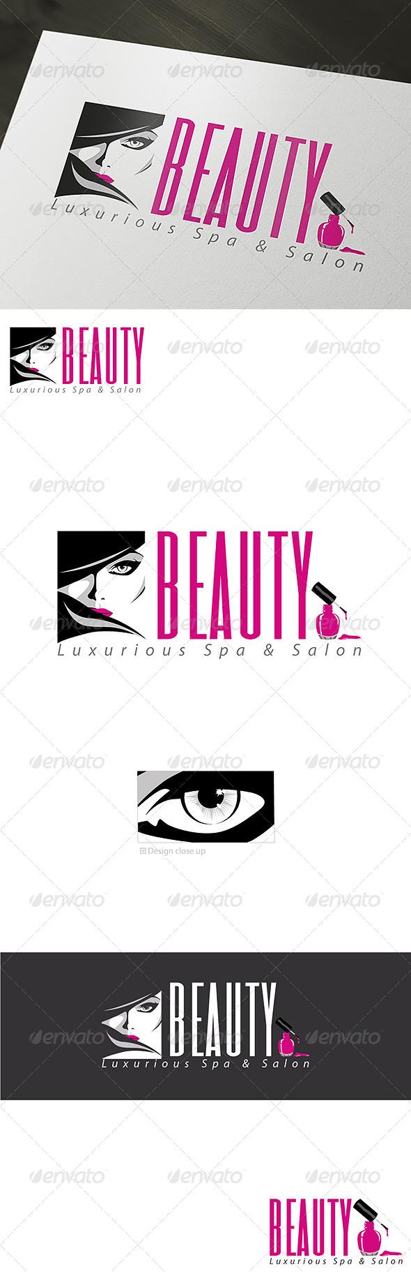 GraphicRiver Luxurious Beauty Spa & Salon Logo Template 6879661