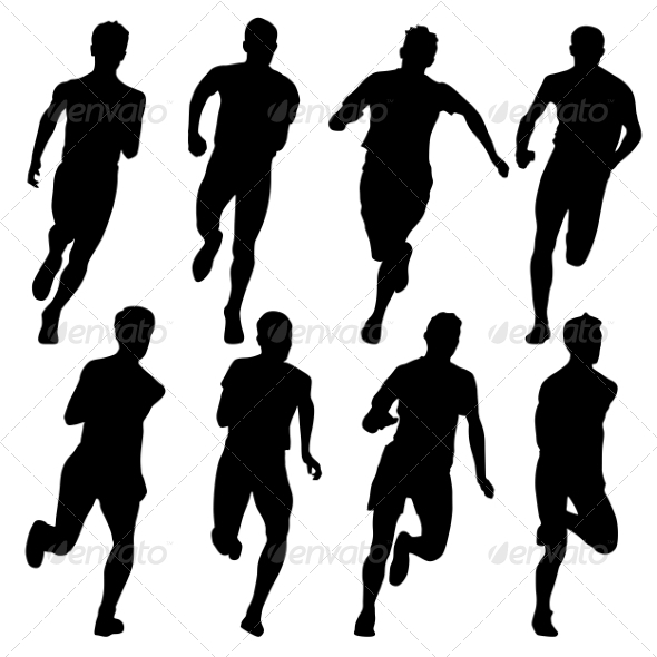 Runners Sillhouettes