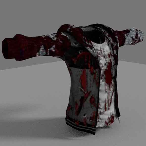 3DOcean Zombie Jacket 6881436