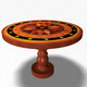 Antique Round Table 12011