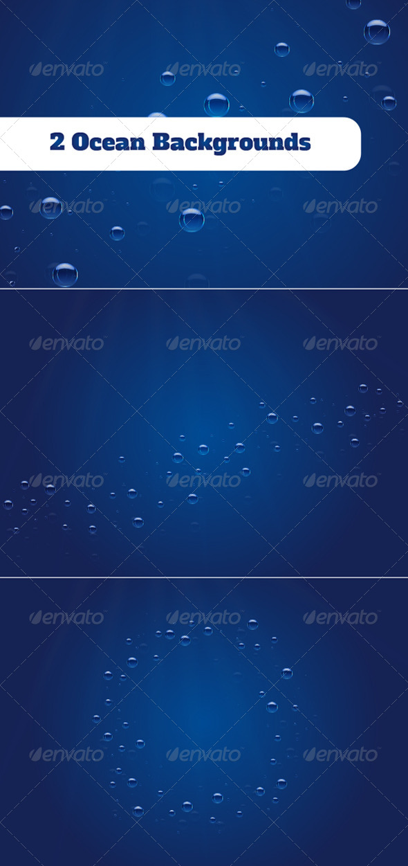 2 Ocean Backgrounds