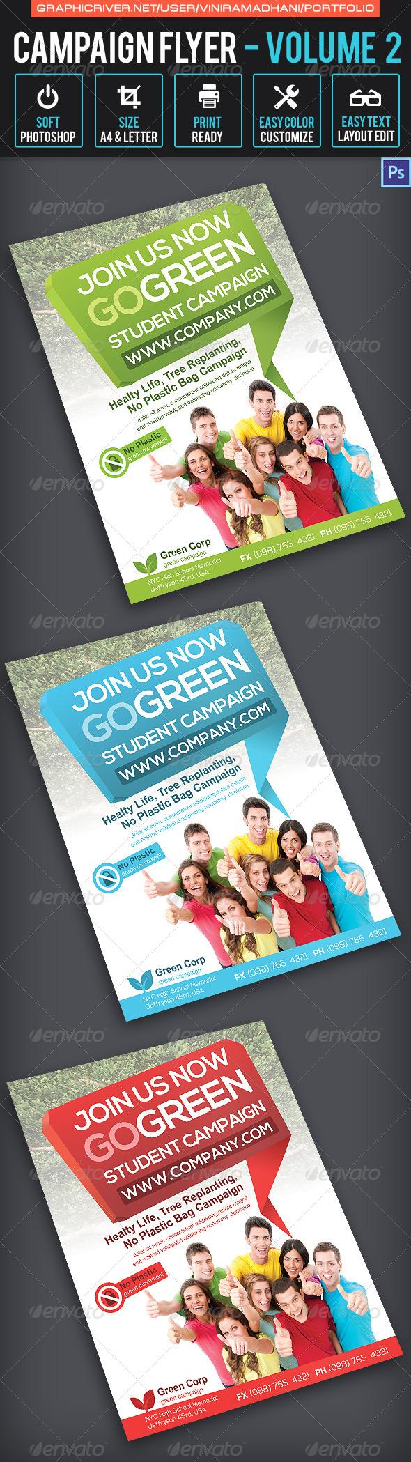 GraphicRiver Campaign Flyer Volume 2 6882287