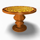 Antique Round Table 32011
