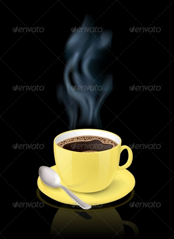 GraphicRiver Cup filled with Espresso 6883189