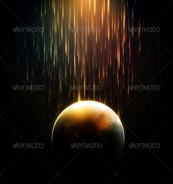 GraphicRiver Meteor Shower 6883287