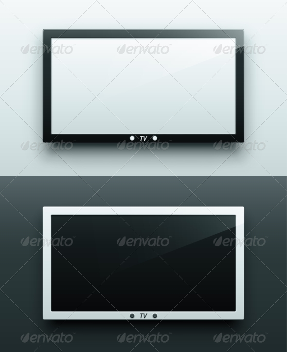 GraphicRiver TV Screen Hanging 6883295