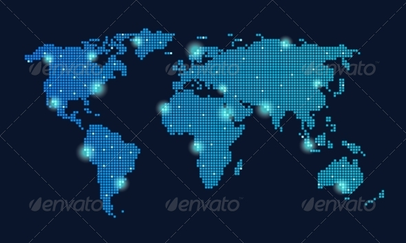 GraphicRiver Global Technology Network 6883296