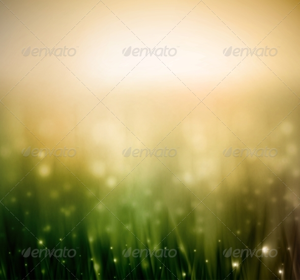 GraphicRiver Background with Grass 6883306