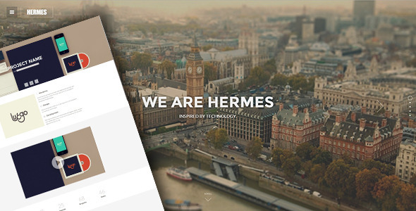 ThemeForest Hermes Responsive Retina Ready HTML5 Template 6879708