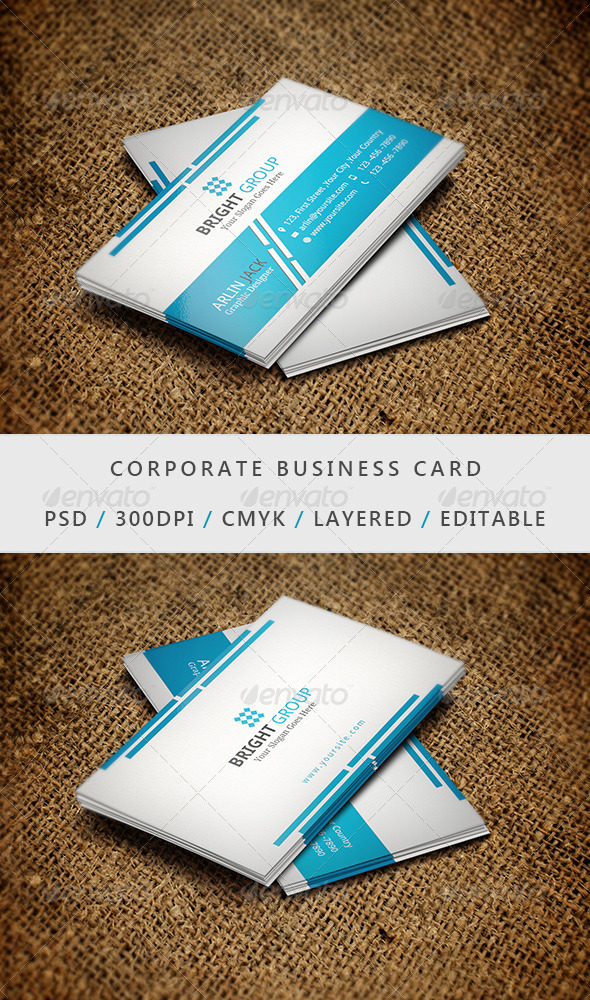 GraphicRiver Business Card 12 6883876