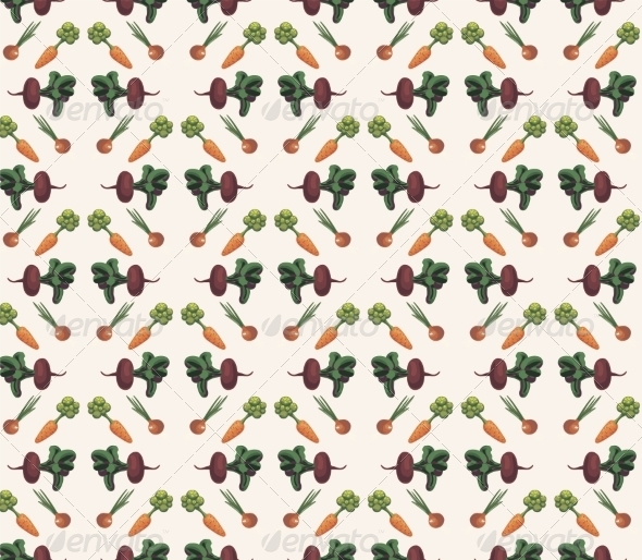 GraphicRiver Vegetable Pattern 6883957