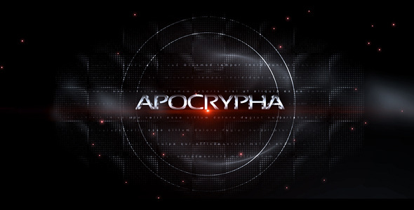 After Effects Project - VideoHive Apocrypha 720662