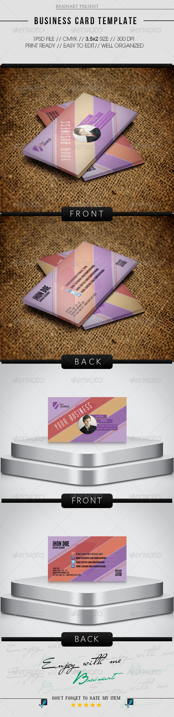 GraphicRiver Corporate Business Card 6884696