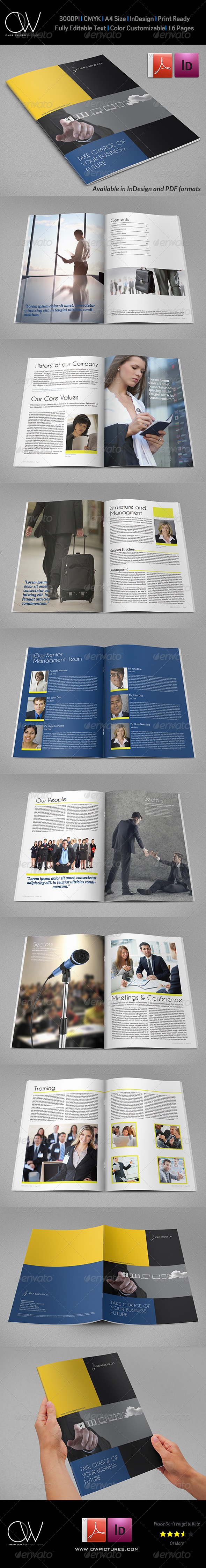 GraphicRiver Corporate Brochure Template Vol.26 16 Pages 6884747