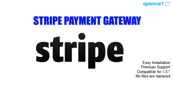 CodeCanyon Stripe Payment Gateway for Opencart 6884771