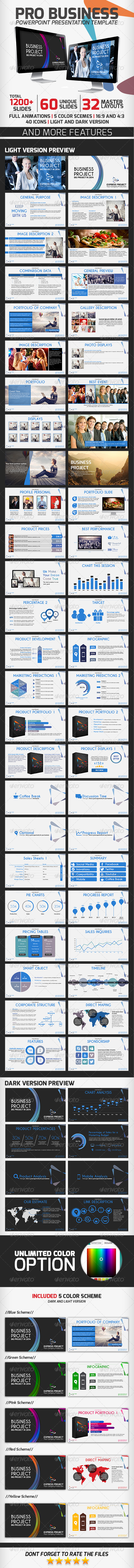 GraphicRiver Pro Business PowerPoint Presentation Template 6885198