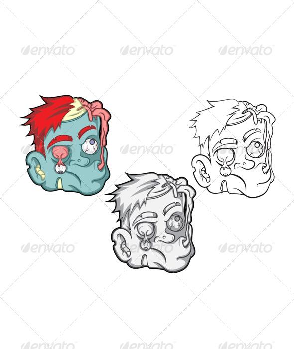 GraphicRiver Brain Eater Vector 6885213