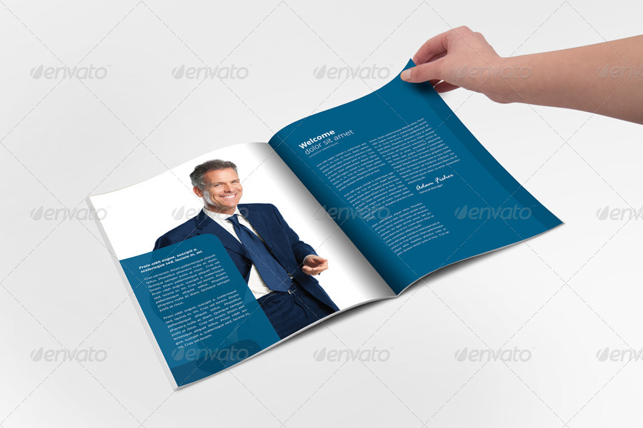open office brochure template free download - annual report brochure indesign template by braxas