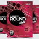 Round Night Party Flyer/Poster - 08 - GraphicRiver Item for Sale