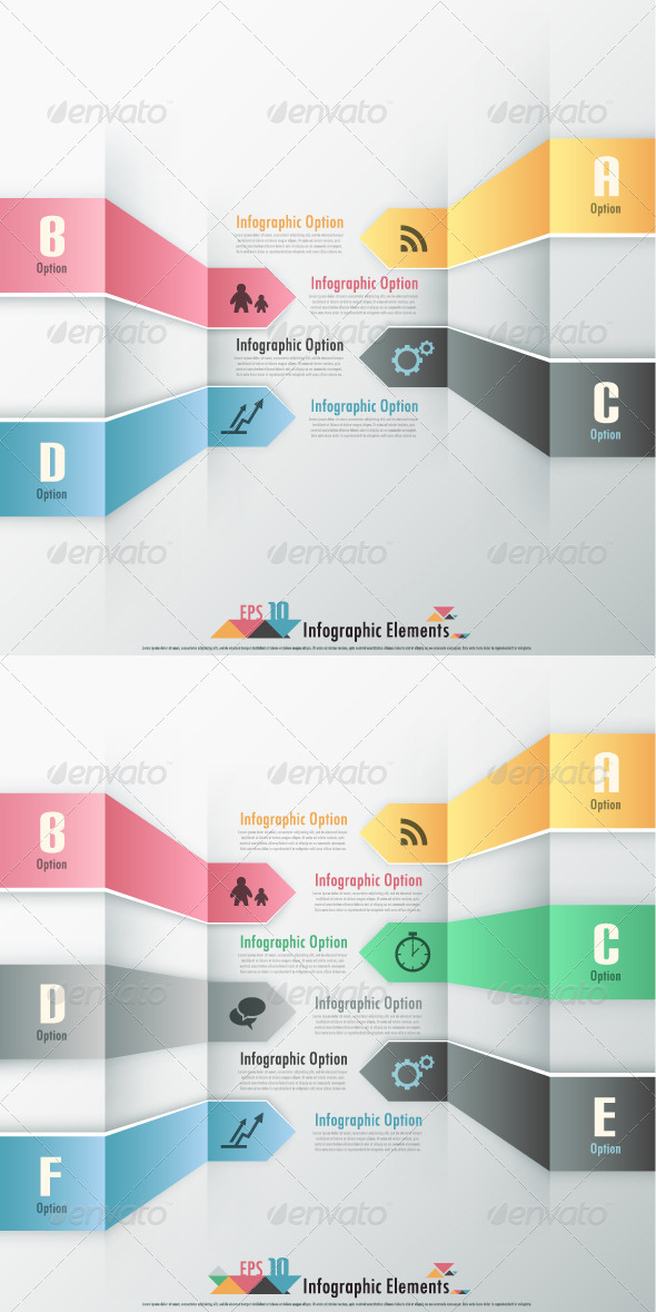 GraphicRiver Modern Infographic Options Banner Two Versions 6885372