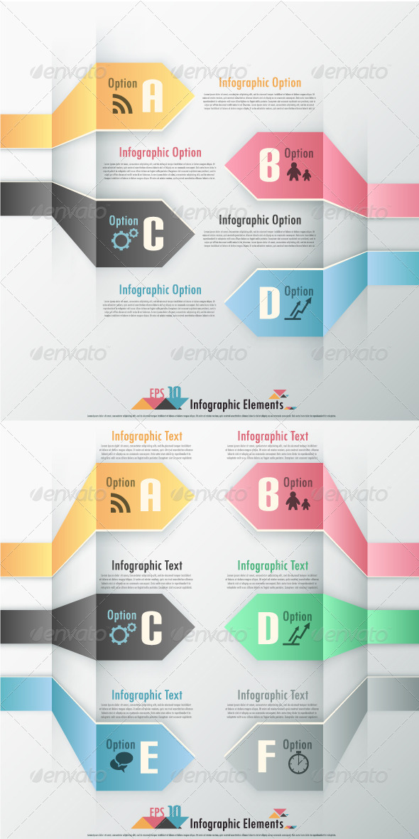 GraphicRiver Modern Infographic Options Banner Two Versions 6885399