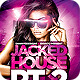 Jacked House Flyer Template PSD - GraphicRiver Item for Sale