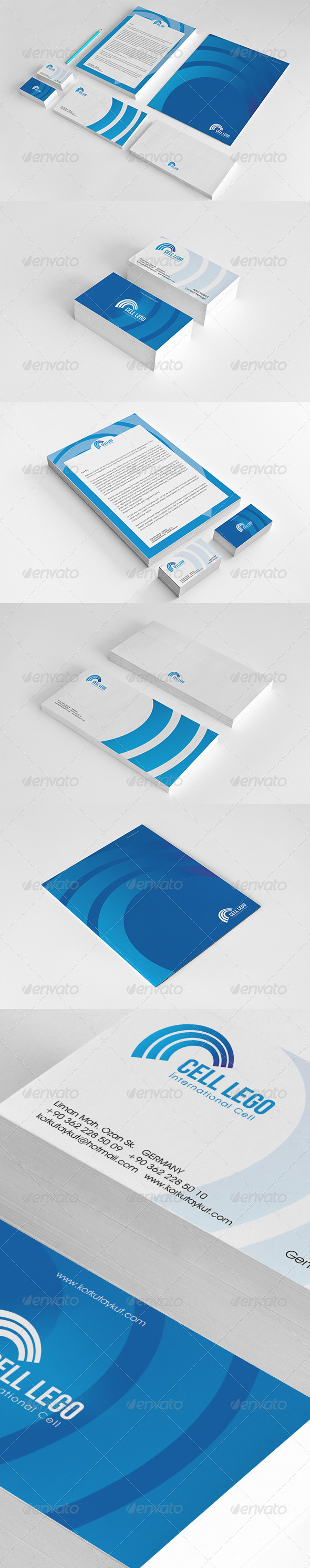GraphicRiver Cell Corporate Identity Package 6885828