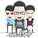 We are Flat Characters