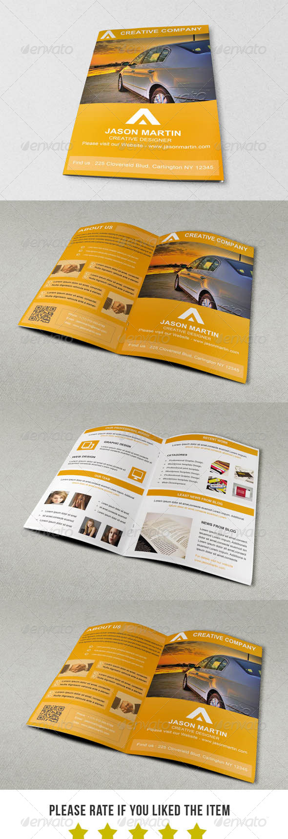 GraphicRiver Portfolio Brochure V2 6886134