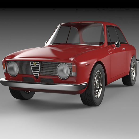 Alfa Giulia gta Sprint - 3DOcean Item for Sale